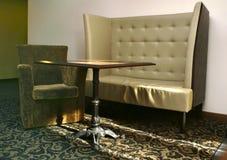 Parte do interior do salão do hotel Imagens de Stock Royalty Free