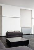 Parte do interior moderno do quarto de assento Imagens de Stock Royalty Free