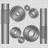 Parte do mecanismo. Imagens de Stock Royalty Free