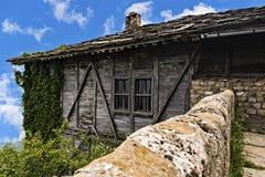 Parte do monastério de Glozhene no Teteven Balcãs foto de stock