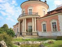 Parte do palácio chinês, castelo de Zolochiv, região de Lviv, Ucrânia Imagens de Stock