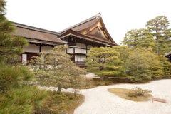 Parte do palácio imperial de Kyoto, Japão Imagem de Stock