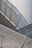 Parte do traço moderno do edifício e da sombra Imagem de Stock Royalty Free