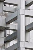 Parte e detalhe de edifício moderno Fotografia de Stock Royalty Free
