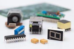 Parte eletrônica Foto de Stock