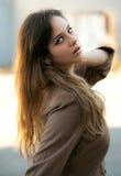 Parte esterna di modello teenager alla moda Fotografie Stock Libere da Diritti