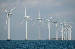 Parte externa Copenhaga do parque do moinho de vento apenas imagens de stock royalty free