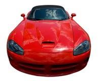 Parte frontal de um carro de esportes foto de stock royalty free