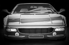Parte frontal del coche de deportes Imagen de archivo libre de regalías