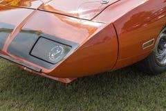 Parte frontale d'annata dell'automobile Immagini Stock