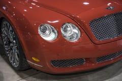 Parte frontale di Bentley Fotografia Stock Libera da Diritti