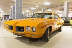 Parte frontale di gto della Pontiac fotografia stock libera da diritti