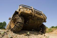Parte frontale di veicolo per qualsiasi terreno Immagini Stock Libere da Diritti