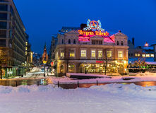 Parte histórica de Bergen Imagen de archivo libre de regalías
