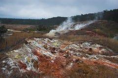 Parte inferior da cratera Foto de Stock