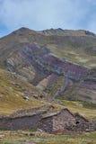 Parte inferior da montanha Fotografia de Stock
