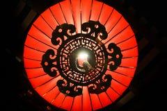 Parte inferior de la lámpara china fotos de archivo libres de regalías