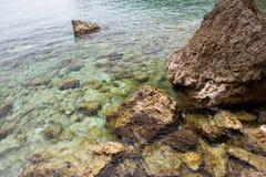 Parte inferior de mar Imagens de Stock Royalty Free