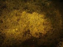 Parte inferior de oro del tanque antiguo fotos de archivo
