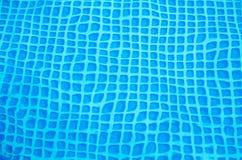 Parte inferior de una piscina ondulada 3 Foto de archivo