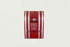 Parte inferior do alarme de incêndio Imagem de Stock Royalty Free