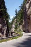 Parte inferior do desfiladeiro de Trigrad fotografia de stock