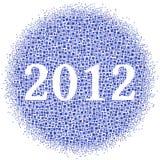 parte interna 2012 una nube dei quadrati Immagine Stock Libera da Diritti