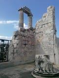 parte interna del tempio Fotografia Stock