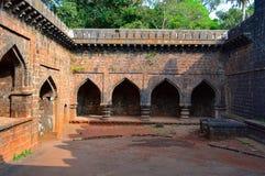 Parte interna di fortificazione teenager di Darwaja Panhala, Kolhapur, maharashtra Fotografia Stock Libera da Diritti