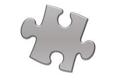 Parte isolada de enigma Imagem de Stock