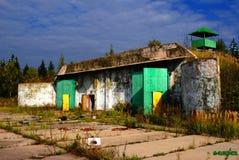 Parte militare abbandonata Fotografie Stock Libere da Diritti
