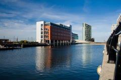 Parte moderna de Liverpool imagenes de archivo
