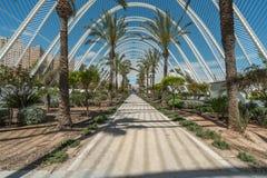 Parte moderna di Valencia in Spagna Fotografia Stock