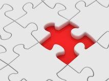 Parte persa del puzzle. Fotografia Stock Libera da Diritti