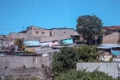 Parte pobre en la ciudad de Cuman Foto de archivo libre de regalías