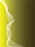 Parte posterior amarilla y negra abstracta Fotos de archivo libres de regalías