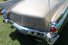 Parte posterior americana de lujo clásica del coche Foto de archivo