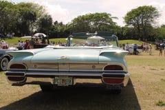 Parte posterior americana de lujo clásica del coche Imágenes de archivo libres de regalías