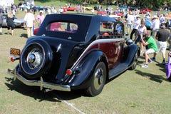 Parte posterior americana del coche Foto de archivo