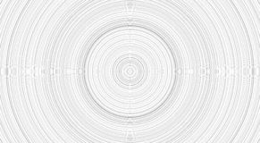 Parte posterior blanca con treerings, mirada blanca redonda stock de ilustración