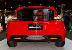 Parte posterior de CR-Z de Honda Imagen de archivo libre de regalías