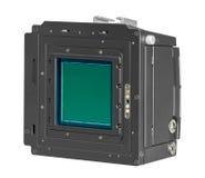 Parte posterior de la cámara digital Imagen de archivo