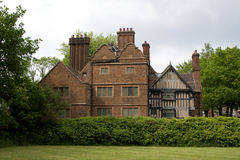 Parte posterior de la casa West Bromwich Inglaterra del roble fotografía de archivo