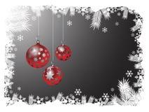 Parte posterior de la Navidad Imagen de archivo libre de regalías
