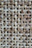 Parte posterior de la silla de mimbre fotografía de archivo libre de regalías