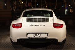 Parte posterior de Porsche 911 Imágenes de archivo libres de regalías