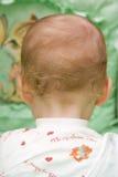 Parte posterior del bebé Fotografía de archivo libre de regalías