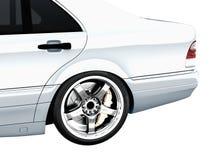 Parte posterior del coche Imagenes de archivo