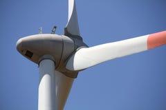Parte posterior del detalle de la turbina de viento Foto de archivo libre de regalías