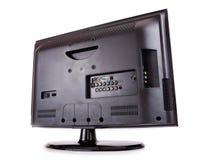 LCD T.V. Rear Imágenes de archivo libres de regalías